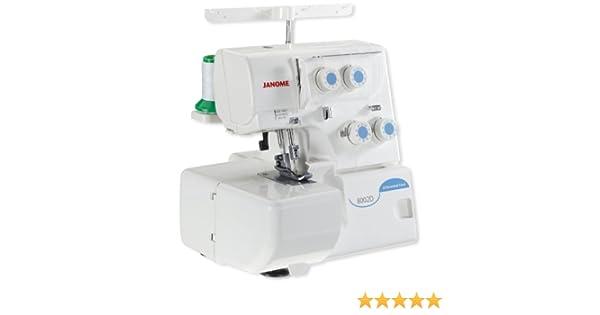 Janome – Máquina de Coser overlock 8002d: Amazon.es: Hogar