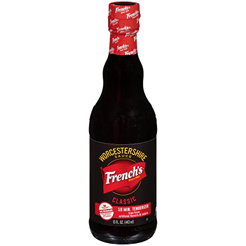 French's Classic Worcestershire Sauce, Gluten Free Meat Marinade, 15 oz