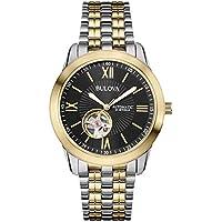 Relógio Bulova Automático Esqueleto 21 Jewels Wb32004p