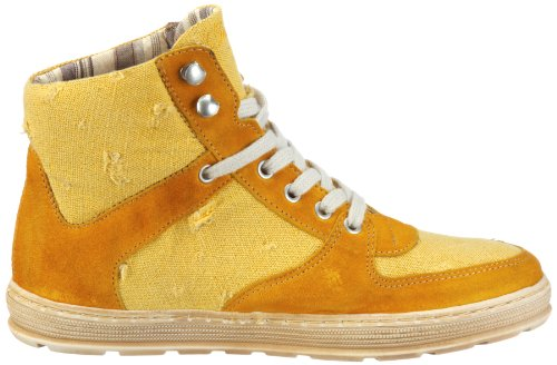 Timezone Riga SBsuede/canvas destroyed 81190 Damen Sneaker Gelb (sunny yellow S775)