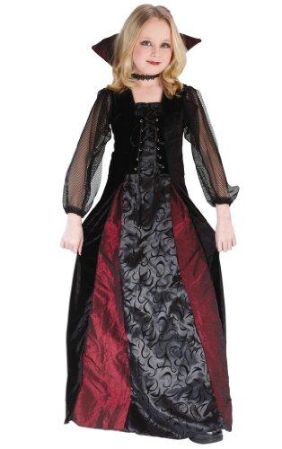 Gothic Maiden Womens Costumes (Goth Maiden Vampiress Kids Costume)