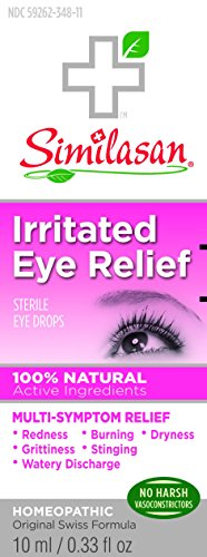 Similasan Irritated Eye Relief 1x10ML (Formerly Called Pink Eye Relief)