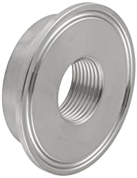Dixon B23BMP-G200 Stainless Steel 304 Sanitary Fitting, Thermometer Cap, 2\