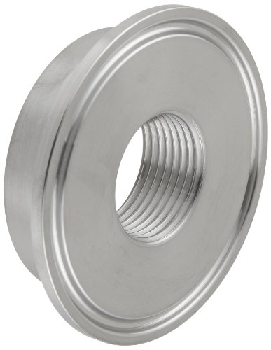 Dixon B23BMP-G200 Stainless Steel 304 Sanitary Fitting, Thermometer Cap, 2'' Tube OD x 3/4'' NPT Female by Dixon Valve & Coupling