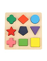 GYBBER&MUMU Wooden Preschool Shape Puzzle BOBEBE Online Baby Store From New York to Miami and Los Angeles