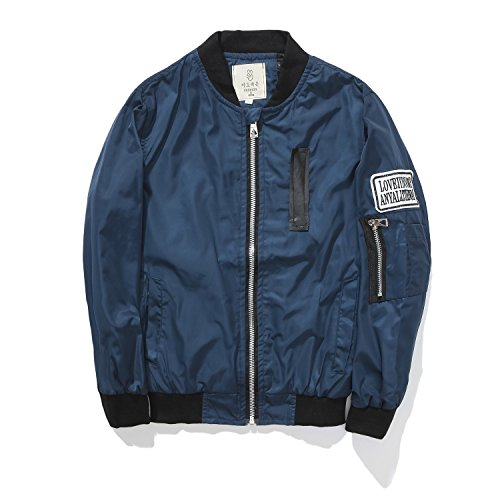 Encontrar Boys Poly Twill Flight Jacket with Patches Navy Size 13 (Navy Blue Kids Flight Jacket)