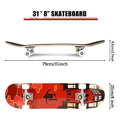 Hikole Skateboard - 31