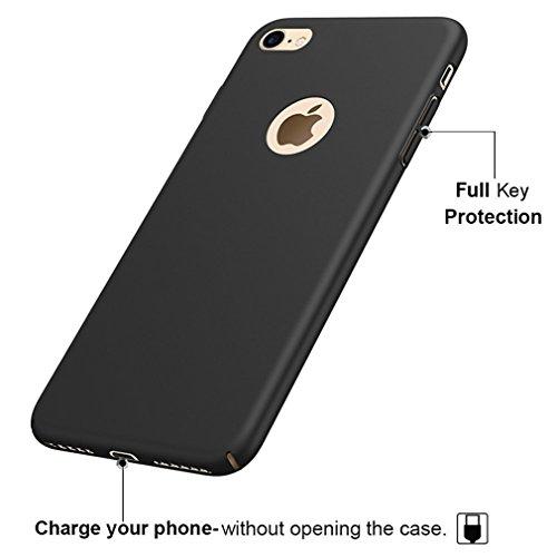 Funda iPhone 6, Funda iPhone6S,Manyip Alta Calidad Ultra Slim Anti-Rasguño y Resistente Huellas Dactilares Totalmente Protectora Caso de Plástico Duro Cover Case [Skin Series](YQ1-1) D