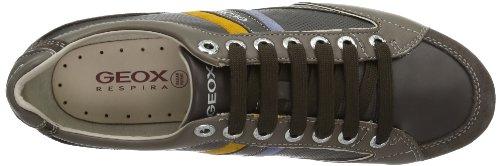 Taupe Sneaker Marrone Ebony U Geox Andrea P C6137 Uomo C66gqR