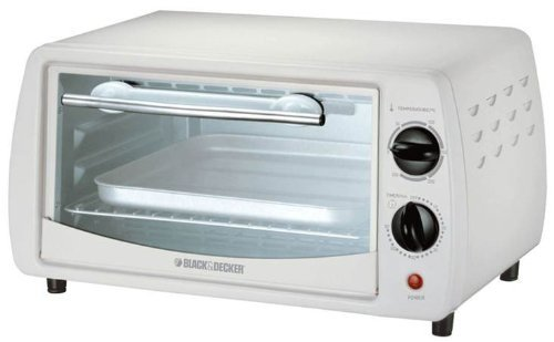 Black & Decker 800W TRO1000C 220-volt Toaster Oven with European Cord, 9-Liter (White Compact Toaster Oven compare prices)