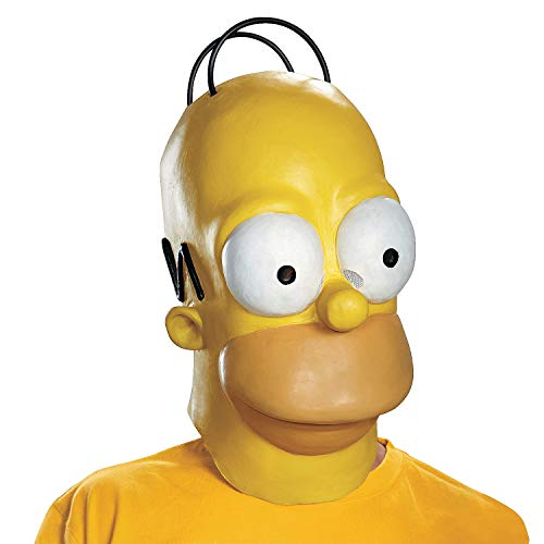 Fun Express - Homer Adult Mask for Halloween - Apparel Accessories - Costume Accessories - Masks - Halloween - 1 Piece -