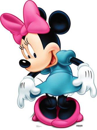 Minnie Mouse Lifesize Cardboard Standup