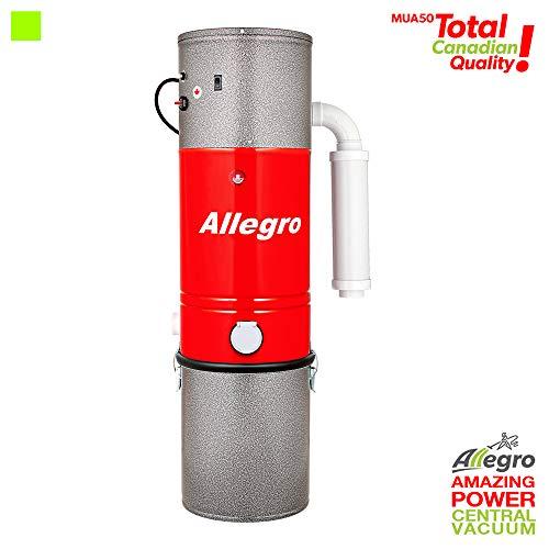 Allegro MUA50 Champion 6,000 Square Foot Home Central Vacuum Super Quiet Power Unit