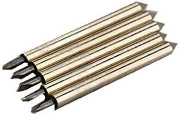 SHINA 60° 5, diseño de fresa-Broca de alta calidad Roland GCC LiYu vinilo Cortador Cuchillas para plotter de corte: Amazon.es: Bricolaje y herramientas