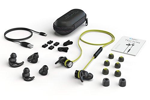 Phaiser BHS-730 Bluetooth Earbuds Runner Headset Sport Earphones with Mic and Lifetime Sweatproof Warranty - Wireless Headphones for Running, Limegreen