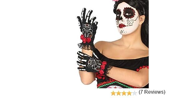 Atosa-39719 Atosa-39719-Accesorio-Guantes Halloween Esqueleto ...