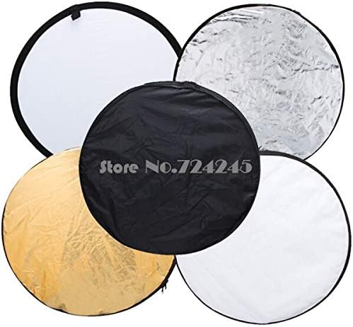32 80cm 5 in 1 New Portable Collapsible Light Round Photography//Photo Reflector for Studio