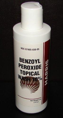 Amazoncom Harris Pharmaceuticals Benzoyl Peroxide 10 Acne Wash