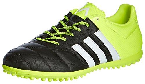 adidas TF Ace 15,3 Leather Bottes Homme Negro / Lima / Blanco