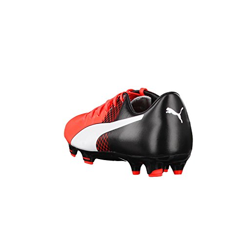 Puma Herren EvoPower 3.3 Tricks FG Fußballschuhe rot - schwarz - weiß