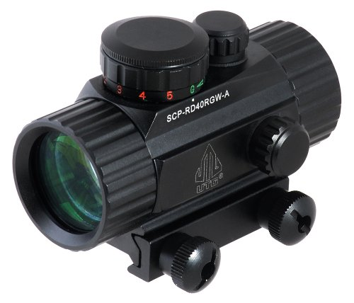 UTG 3.8' ITA Red/Green CQB Dot Sight with Integral Mount