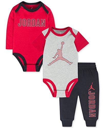 Nike Jordan Baby Boys' 3 Piece Bodysuits & Pants Set (6-9...
