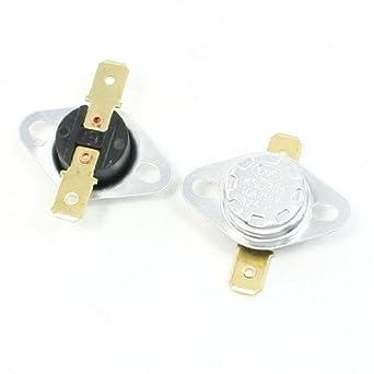 Interruptor DealMux KSD301 125 ° C 257F 250V 10 Amp Temperatura Controlada