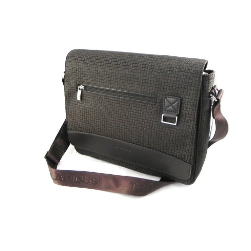 Ted Lapidus [I1225] - Satchel briefcase 'Ted Lapidus' brown.