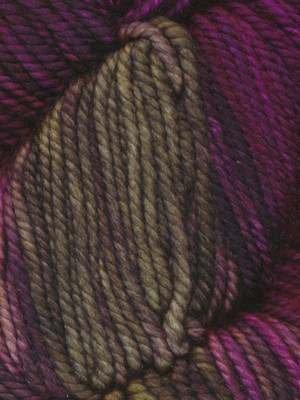 Hand Painted Lily - Ella Rae Yarn - Lace Merino Aran Hand Painted - Lily Lombardia 1018