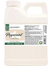 16 oz Peppermint Essential Oil (100% Pure & Uncut) - GreenHealth by Greenhealth