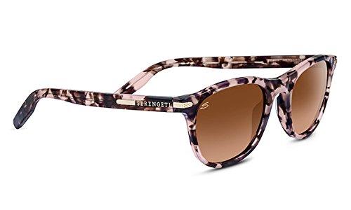 Serengeti 8466-Andrea Andrea Glasses, Pink Tortoise - Sunglasses Andrea