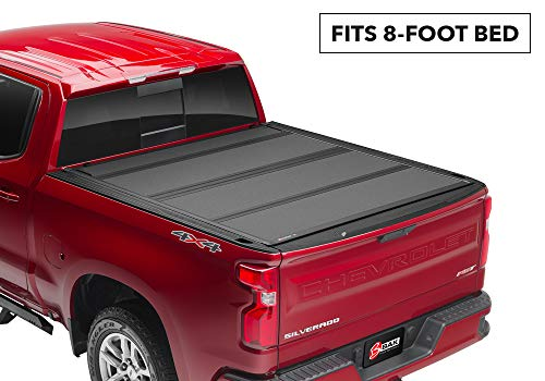 BAK BAKFlip MX4 Hard Folding Truck Bed Tonneau Cover | 448331 | Fits 2017-20 Ford Super Duty 8' Bed
