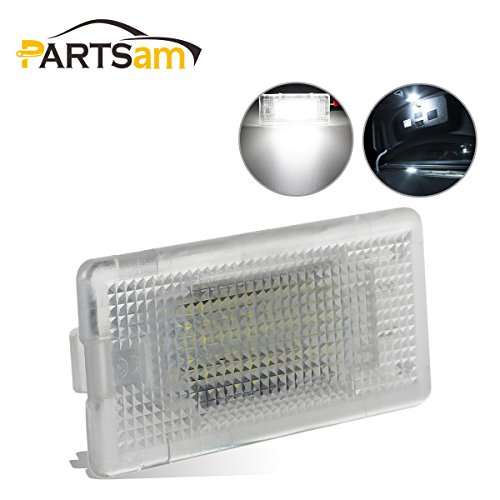(Partsam White CANBus LED 18-SMD Luggage Trunk Cargo Area Light Lamp Replacement for BMW 1/3/5/6/7/X Series)