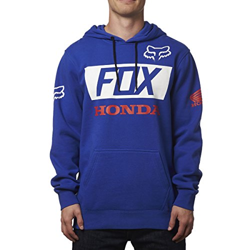 fox-racing-honda-basic-pullover-hoody-blue-m