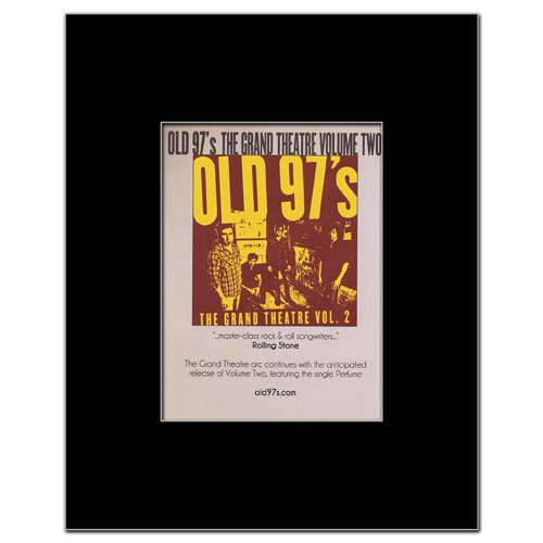 Music Ad World Old 97's - Grand Theatre Vol2 Mini Poster - 13.5x10cm