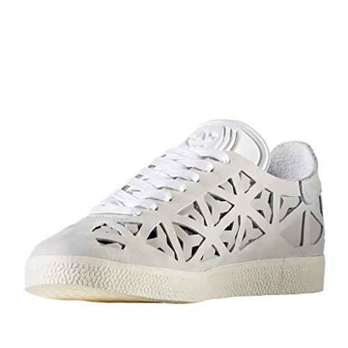 Adidas Originali Da Donna Gazelle W Ritaglio Bianco / Bianco Crema