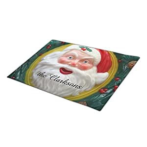 Dreameroom Festive Custom Door Mat Father Christmas Outdoor Door Mat