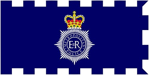 magFlags Large Flag Metropolitan PoliceCategory Metropolitan Police Service Category Government flags of the United Kingdom Category Flags of England | landscape flag | 1.35m² | 14.5sqft | 80x For Sale