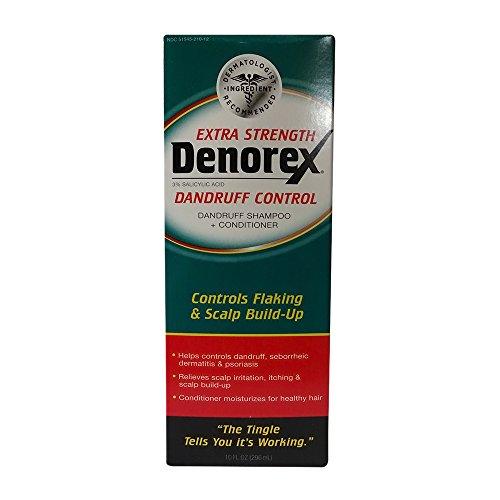 [Denorex Extra Strength Dandruff Shampoo + Conditioner 10 oz] (Denorex Dandruff Shampoo)