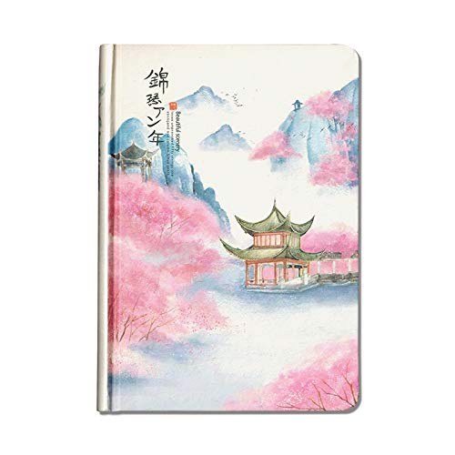 - YYQ 32K Small Fresh Beautiful Hand-Painted Illustration Student Hand Book Teenage Heart Classical Art Gift Student Supplies