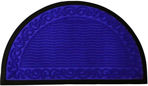 f106d3d8b5d2 Amazon.com : Half Round Door Mat Entrance Rug Floor Mats   Ripple ...