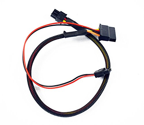 YDLan Delanse New Hard Drive Optical SATA Power Cable For Dell 3653 3650 3655 series KC81G 0KC81G by YDLan