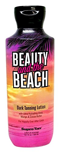 Beauty and the Beach Dark Tanning Lotion Supre Tan 10.1 Ounce