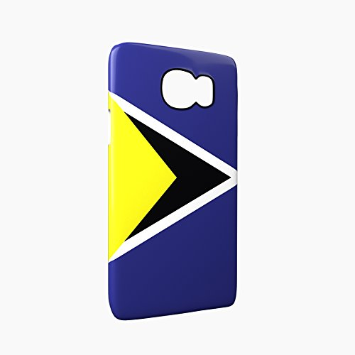 Flag of Saint Lucia Glossy Hard Snap-On Protective iPhone 5 / 5S / SE Case Cover