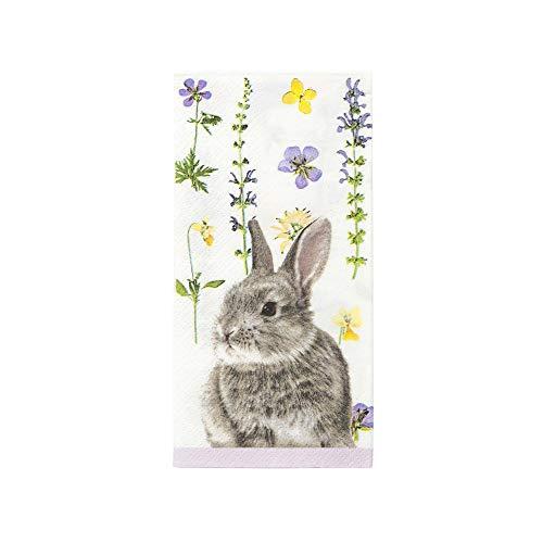 Easter Paper Napkins Matching Easter Plates Available Easter Bunny Floral Napkins Dinner Napkins Pk -