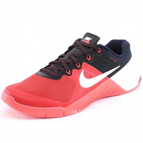 Nike Mens Metcon 2 Synthetic Trainers Umvrsty Rd/Wht/Brght Crmsn/Blc (8)