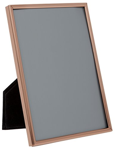 Maturi 3.5 x 5 Rose Gold Colored Thin Edge Photo Frame-3 x 5-Inch