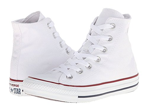 Converse Para Hombre Chuck Taylor All Star High Top, 12 B (m) Us Mujeres / 10 D (m) Us Hombres, Optical White