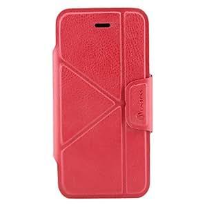 conseguir Transformadores de cuero de la PU caso de cuerpo completo para iphone 5/5s , Rosa