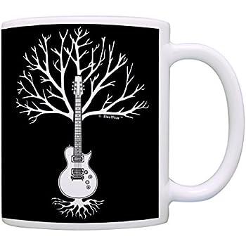 music lover gifts guitar tree of life music teacher mug music themed gift for women. Black Bedroom Furniture Sets. Home Design Ideas